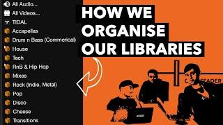 How DJ's organise their music libraries - DJ Tutorial
