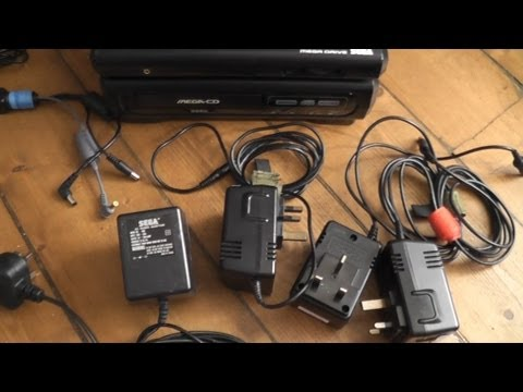 SEGA All-In-One Power Supply Mod - No More Wall Warts! - MD/32X/MCD/SMS