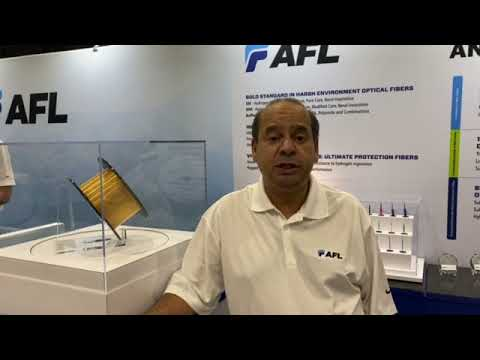 Abdel talking Specialty Cable at OTC 2021