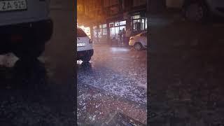 İstanbulda son dakika dolu yagiyor