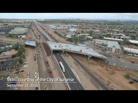 Bell Road and Grand Avenue (US 60) Fly Over