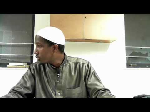 Tuxfatul Sinniyah Lesson 7 - Explanation of Ajroomiyah (Arabic Grammar) by Sh Mahdi Mohamud