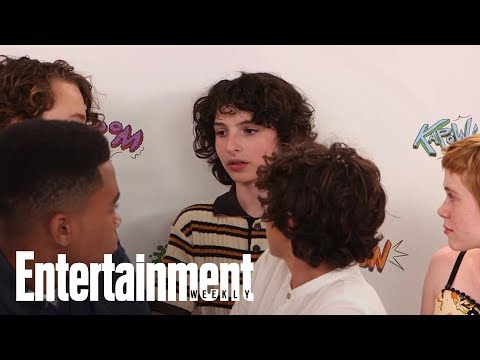 What Finn Wolfhard's Stranger Things Character Would Think Of IT | SDCC 2017 | Entertainment Weekly
