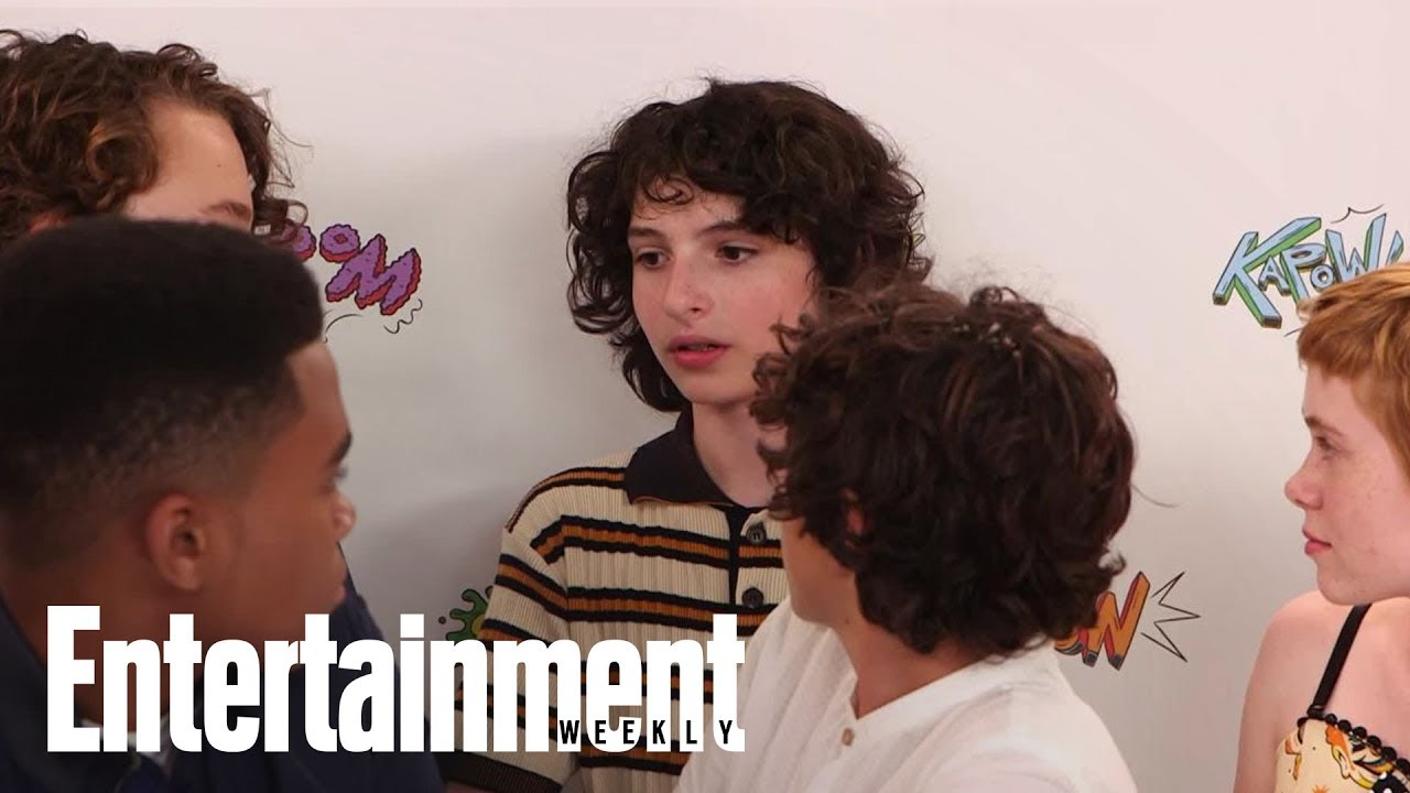 What Finn Wolfhard's Stranger Things Character Would Think Of IT   SDCC 2017   Entertainment Weekly