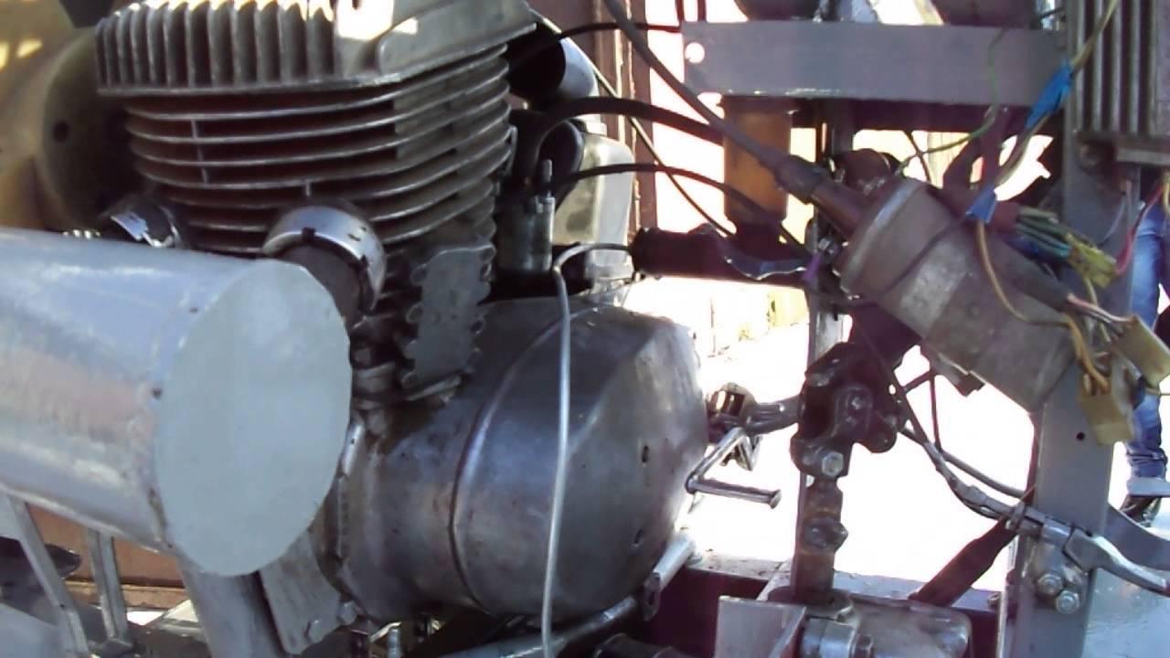 Как сделать минитрактор с двигателем от планеты