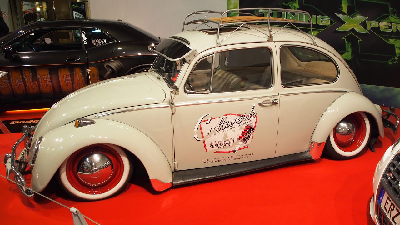 volkswagen k fer 1966 tuning at essen motorshow exterior. Black Bedroom Furniture Sets. Home Design Ideas