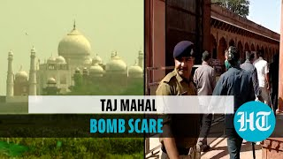 Watch: Taj Mahal briefly shut, tourists evacuated after hoax bomb call