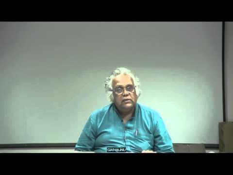 GIAN@JNU 14/03/2016, Prof. H.S. Shivaprakash, Jawaharlal Nehru University