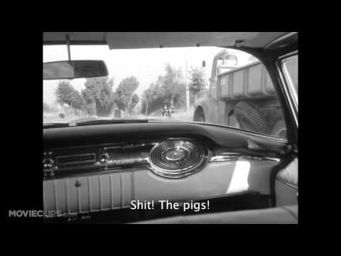 Breathless (1_4) Movie CLIP - Countryside Cop Killer (1960)