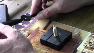 High Torque Quartz Clock Movements And Mismatched Hands - Klockit