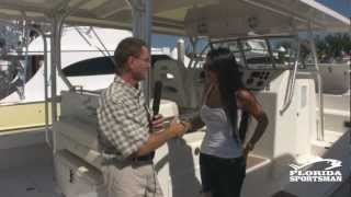 Calcutta Marine 390 Catamaran - FS Boat Review from the 2012 Ft. Lauderdale Boat Show