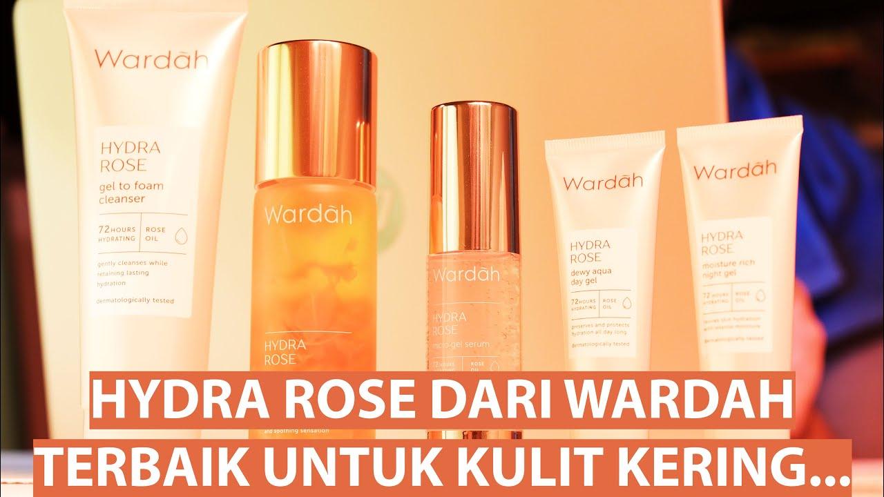 Harga Wardah Hydra Rose Gel To Foam Cleanser Murah Indonesia Priceprice Com