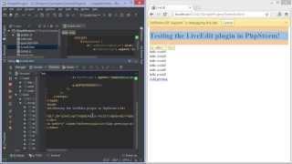 Live Edit in PhpStorm - PhpStorm Video Tutorial