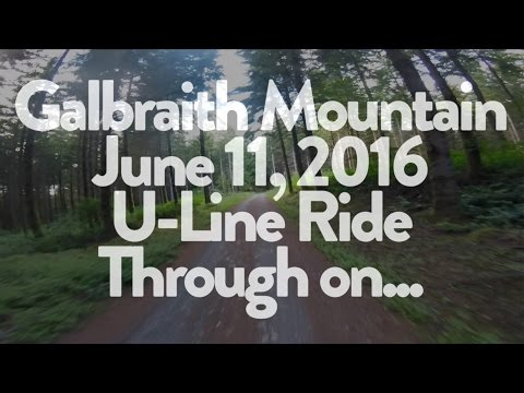 U line/Unemployment Line at Galbraith Mountain - June 11, 2016