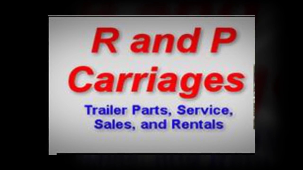 R and p carriages trailer sales service and rental youtube r and p carriages trailer sales service and rental sciox Choice Image