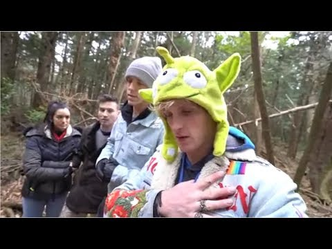 Logan Paul Finds Something In The Woods !
