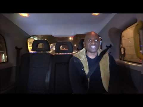 DMC World Champion 1989 Cut Master Swift INTERVIEW in London Taxi