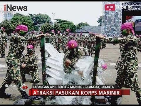 Atraksi Pasukan Korps Marinir Pada HUT Ke-72 Marinir - Special Event 15/11
