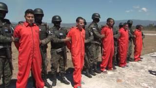 Video de Traslado de Reos al carcel máxima seguridad 15 febrero 2017