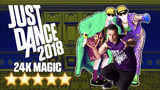 Just Dance 2018: 24K MAGIC Gameplay 5 Star | Jayden Rodrigues with SAMI