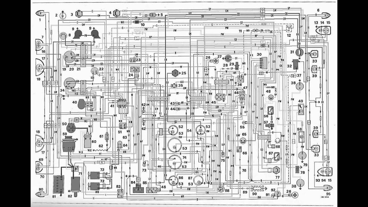 Nissan Almera Audio Wiring Diagram : Schema electronique automobile youtube