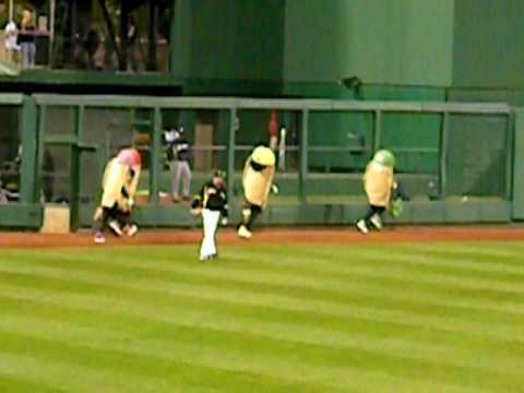 The Great Pittsburgh Pierogi Race! April 21st, 2010! Pirates! PNC Park!