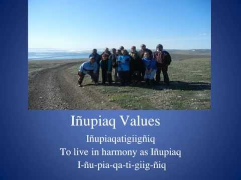 Inupiaq Values