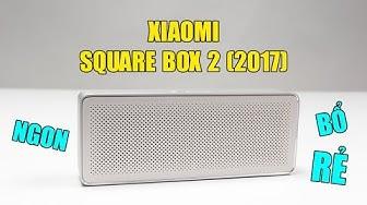Combo công nghệ dành cho Mi Fan 3: Loa bluetooth Xiaomi Square Box 2 2017
