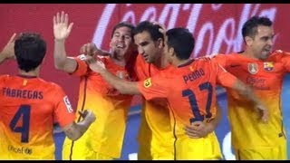 Resumen Getafe CF - FC Barcelona (1-4) Jornada 4