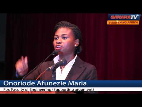 "UNILAG Students Debate How 2015 Election Will ""Make"" or ""Mar"" Nigeria -Pt. 2"