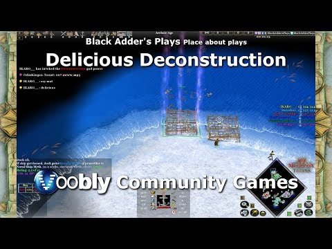 Delicious Deconstruction - Voobly Community Games - Age Of Mythology: The Titans
