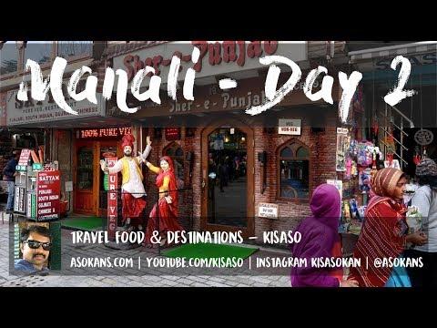 Places to Visit at Manali - Mall Manali, Hadimba Devi Temple, Restaurants, Mall road