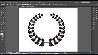 Wreath Logo Design | In Illustrator cc | Hindi / Urdu