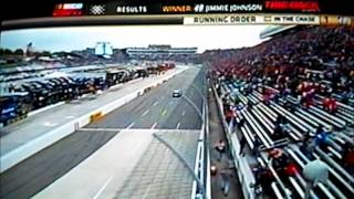 2012 Tums Fast Relief 500 - FINISH