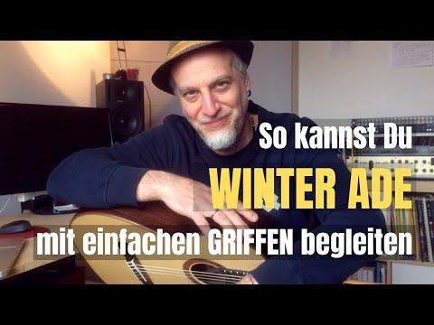 #32 Winter ade | Griffe: D und A-Dur | Gitarre lernen mit Kinderliedern