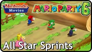 Mario Party 6 - All Star Sprints (Multiplayer)