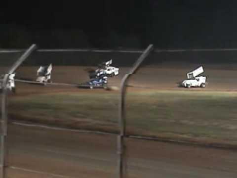 #28 David Forbis at Ark-La-Tex Speedway on Sept 5, 2009