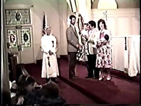 1989 - Marks Christening