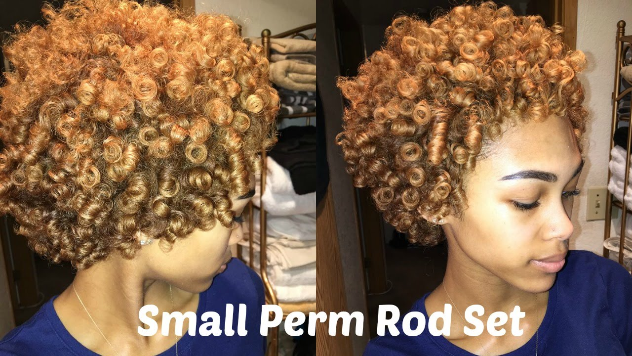 Perm Rod Set On Dry Natural Hair Kids