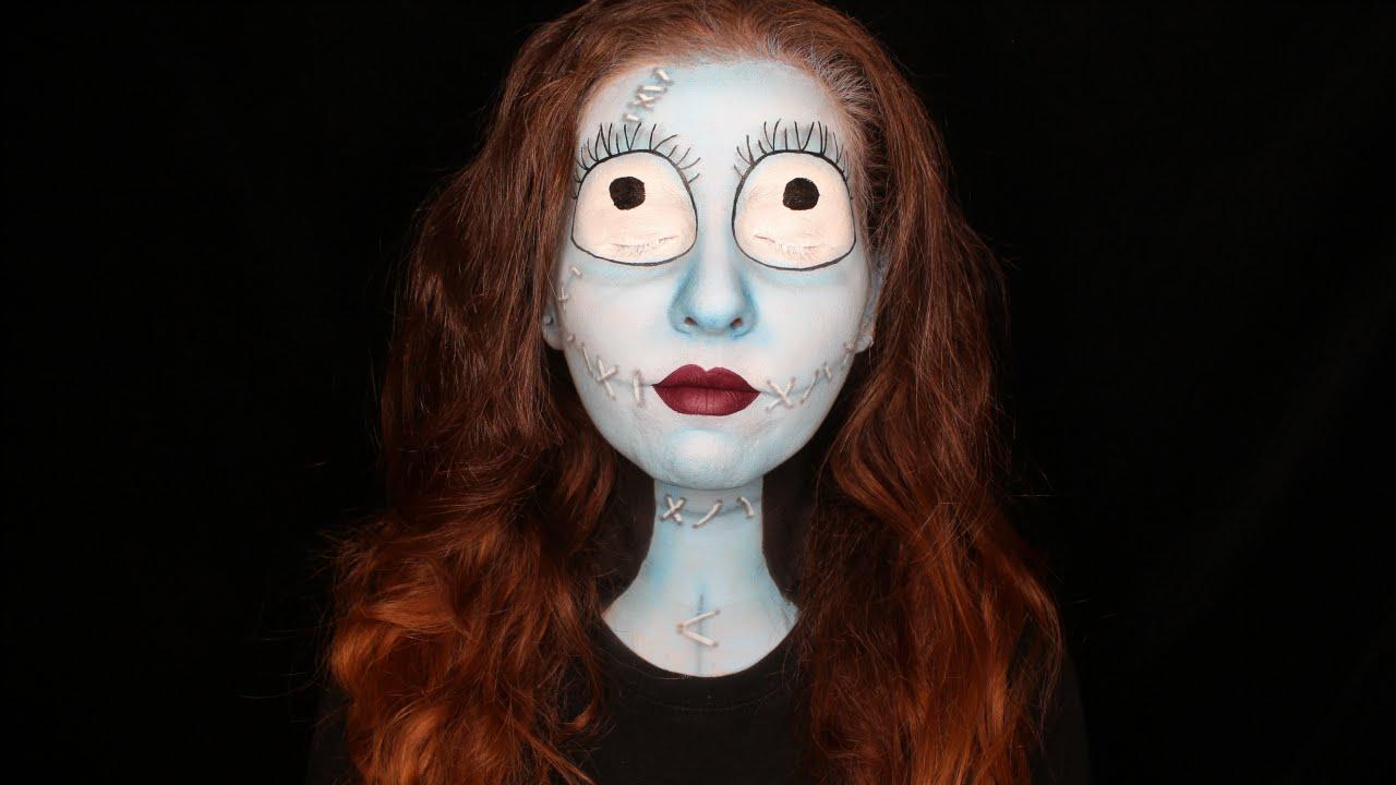 Nightmare Before Christmas Sally Makeup Tutorial | Halloween | Grin ...