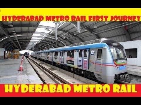Hyderabad Metro Rail || HD || INDIA || video from Apple Ipad