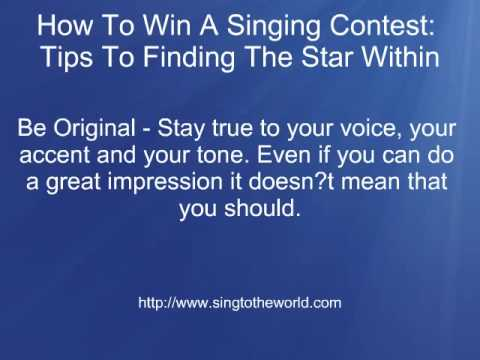 How To Win A Karaoke Contest - Top tips