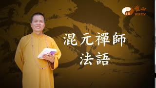 庭院少放廢棄物【混元禪師法語81】  WXTV唯心電視台