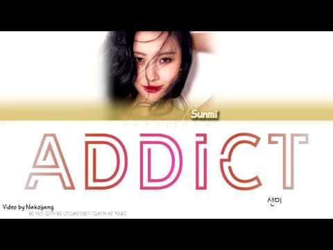 SUNMI (선미) - ADDICT (intro) (Color Coded Lyrics Eng/Rom/Han)