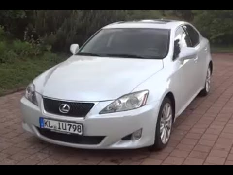 2008 Lexus Is250 Review Youtube