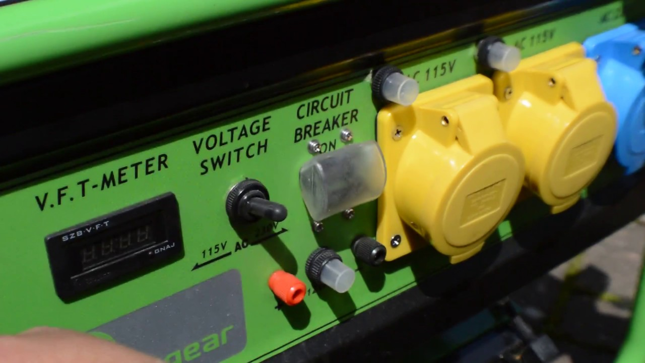 Greengear Generator Quick start video