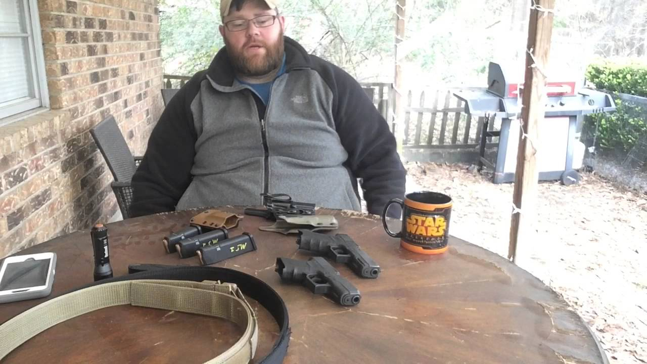 Concealed carry positions for fat guys