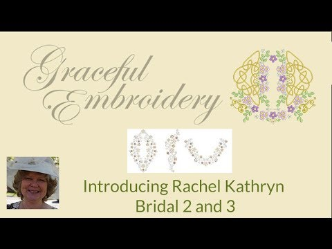 Embroidery designs for Bridal projects