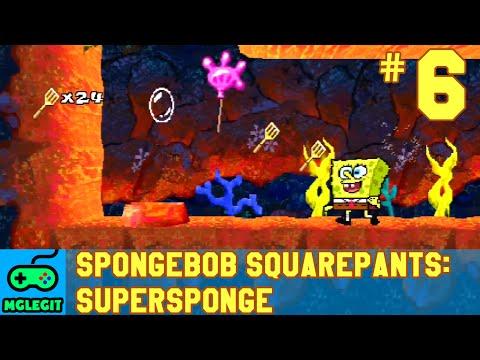 SpongeBob SquarePants SuperSponge Walkthrough Part 6 - Thermal Tunnels (PS1) (No Commentary)