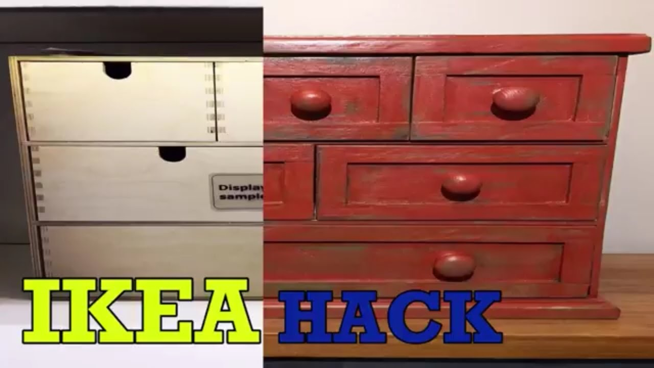 ikea hack moppe drawers to farmhouse style by bcdesign1. Black Bedroom Furniture Sets. Home Design Ideas
